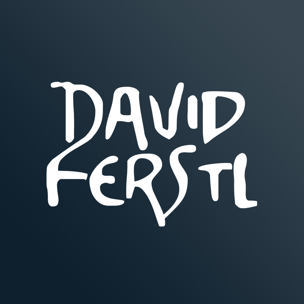 David Ferstl Media Production Logo blau