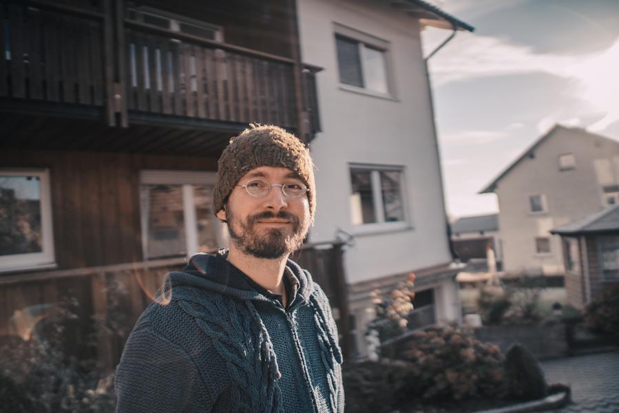 Drohnenpilot und Aufnahmeleiter Michael Kirschner-Rang