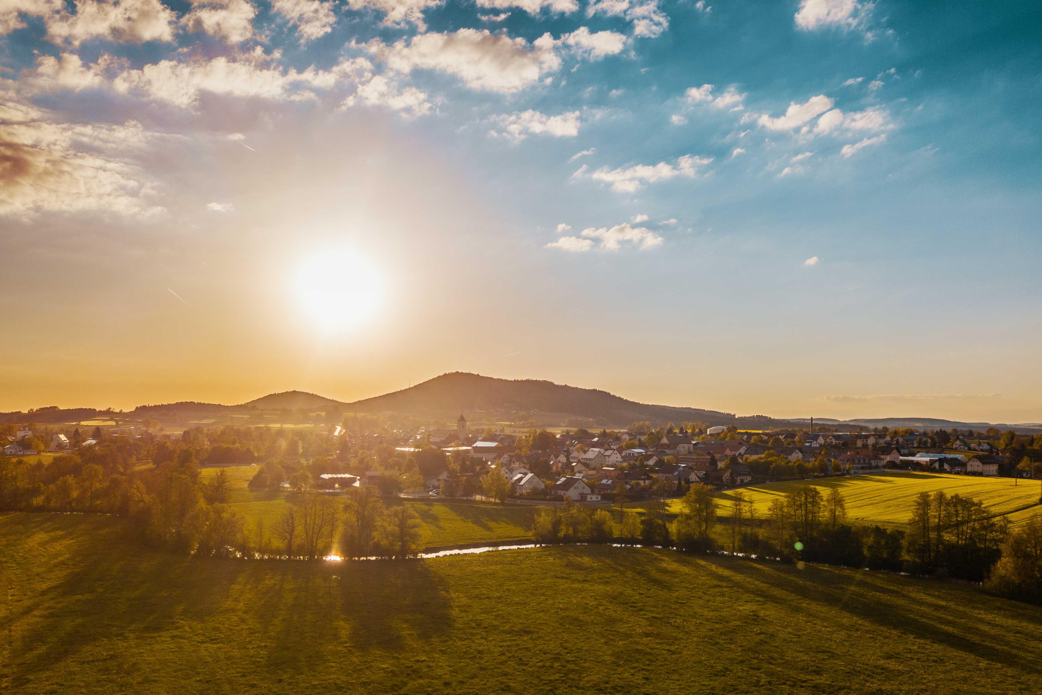 Landschaftsfotografie Beispielbild Rötz in der Oberpfalz