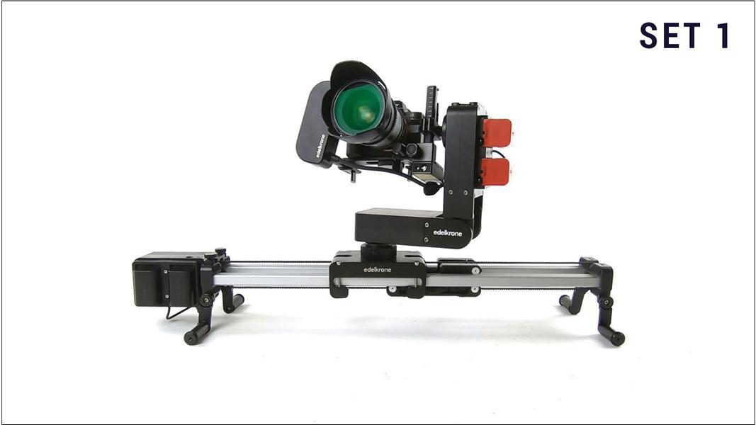 Kameraverleih: Set 1 | Sony A7SII + Edelkrone Slider Plus mit Head Plus + Walimex Pro VDSLR Objektive