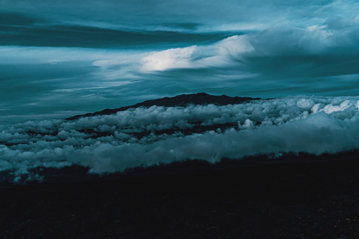 Blick auf den Mauna Kea Big Island Hawaii